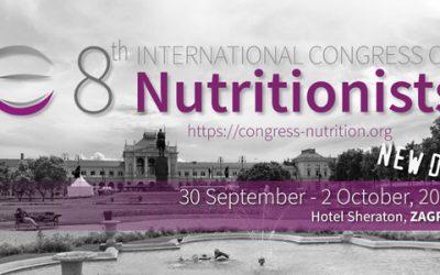 NAJAVA: 8. međunarodni kongres nutricionista