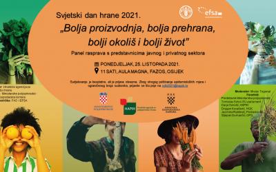Svjetski dan hrane 25.10.2021. OSIJEK